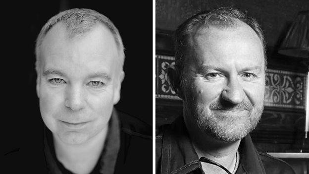 Steve Pemberton and Mark Gatiss are to appear in the new series Good Omens. Photo courtesy of the BBC