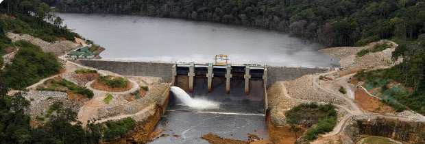French energy company EDF commissions hydroelectric dam in Laos (Photo: EDF Group)