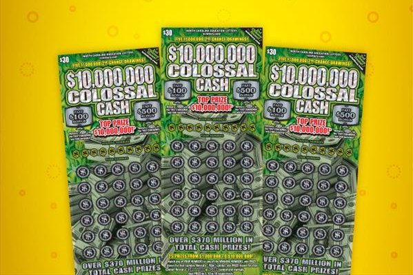 A North Carolina woman won $1 million from a lottery ticket she bought while doing a favor for a coworker. Photo courtesy of the North Carolina Education Lottery