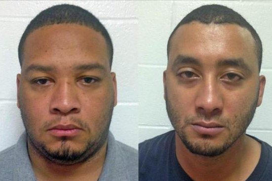 Marksville, Louisiana Police Officer Derrick W. Stafford, left, and Alexandria City Marshal Norris J. Greenhouse Jr. were charged with second degree murder and attempted second degree murder in a shooting that left Jeremy Mardis, 6, dead. The boy's funeral is Monday. Photo from Louisiana State Police