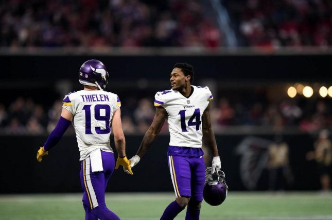 Minnesota Vikings wide receivers Adam Thielen and Stefon Diggs are one of the best duos in the NFL. Photo courtesy of the Minnesota Vikings.
