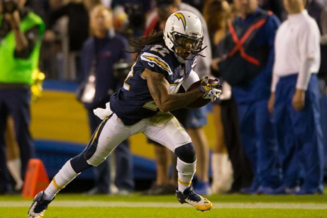 The Los Angeles Chargers placed Jason Verrett (22) on injured reserve less than one week after the cornerback tore his Achilles, the team announced Thursday. Photo courtesy of Los Angeles Chargers official website