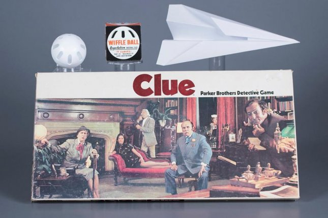 The Toy Hall of Fame announced the induction of board game Clue, the Wiffle Ball and the paper airplane. Photo courtesy of The Strong National Museum of Play