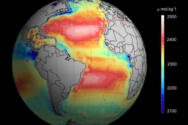 Satellite data is helping scientists build more expansive and detailed ocean acidification maps. Photo by Ifremer/ESA/CNES