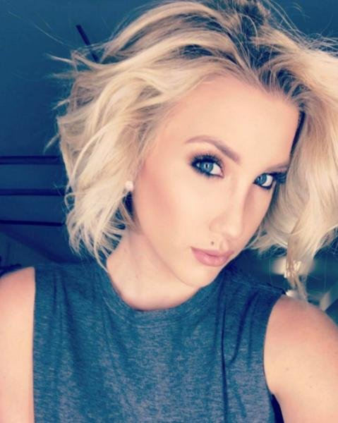 Savannah Chrisley of Chrisley Knows Best said she broke several vertebrae in the car accident, but that things would have been worse if not for her car's airbag, and the seat belt she was wearing. Photo courtesy of Chrisley/Instagram