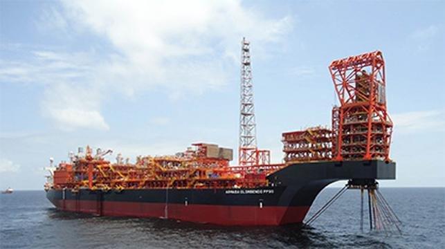 Italian energy company Eni starts production offshore Angola ahead of schedule. Photo courtesy of Eni
