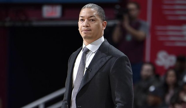 Coach Tyronn Lue and the Cleveland Cavaliers are facing another post-LeBron James era. Photo courtesy of the National Basketball Association/Twitter