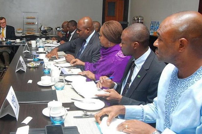 Nigerian leaders discuss ways to diversify the economy away from oil with members of a U.N. agency. Photo courtesy of the U.N. Industrial Development Organization