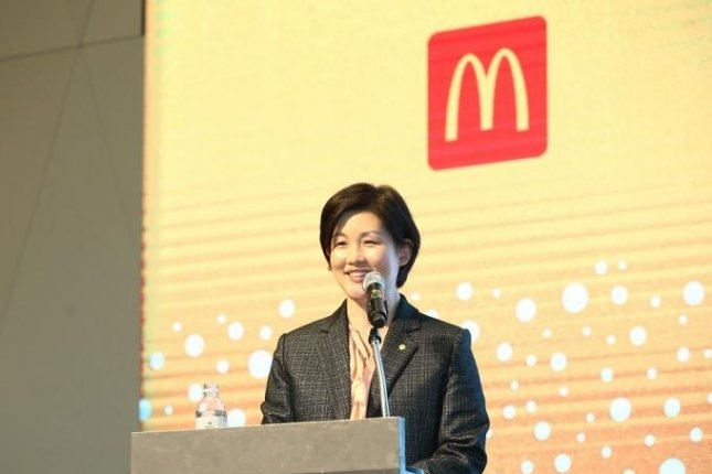 McDonald's Korea Managing Director Melanie Joh said Monday she is resigning, months after the re-launch of an investigation into food safety claims. Photo courtesy of McDonald's Korea