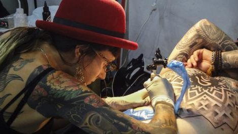Tattoo culture shifts from rebellion to fashion at Argentine convention