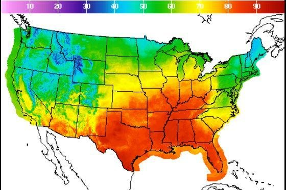 Record-breaking fall heat wave hits portions of the United ...