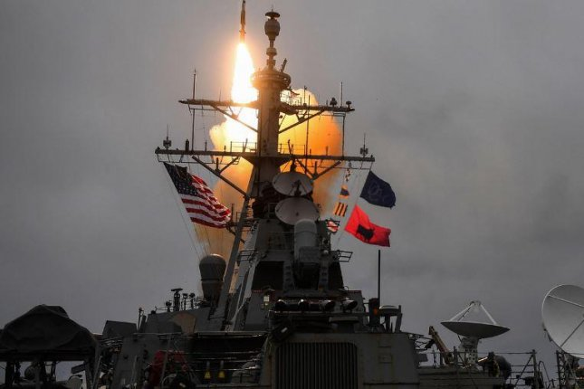 The USS Donald Cook detected, tracked and successfully intercepted a medium-range ballistic missile, officials said -- part of Formidable Shield 17, a three week-long NATO military exercise. Photo courtesy of U.S. Navy Europe-Africa