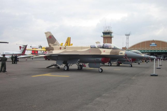A Royal Moroccan Air Force F-16 appears at the 2012 Marrakech Air Show in the nation. Photo by Ndunruh /Wikimedia Commons