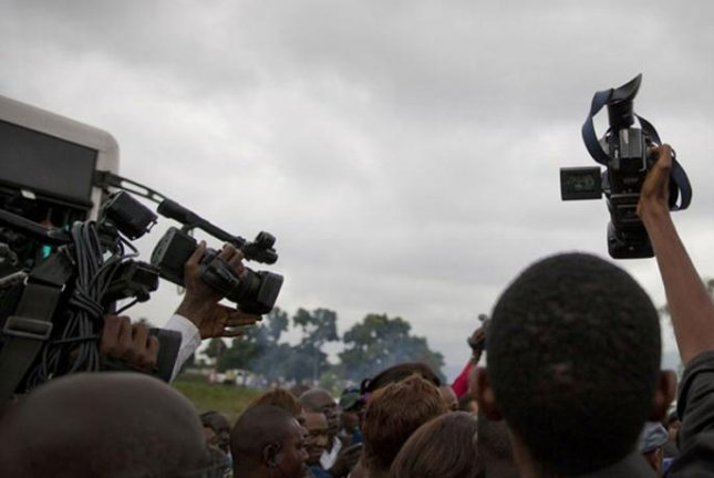 The U.N. agency, UNESCO, tasked with defending press freedom, reported Tuesday that 87% of inquiries into killings of journalists worldwide since 2006 remain unresolved. Photo by Sylvain Liechti/United Nations