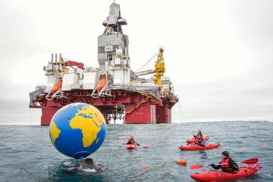 Greenpeace activists arrested in Bering Sea protest