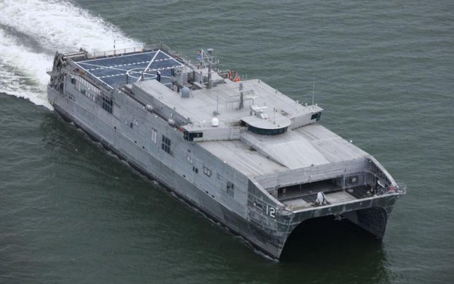 The USNS Newport completed its integrated sea trials last week, the U.S. Navy announced on Monday. Photo courtesy of Austal USA/U.S. Navy Sea Systems Command