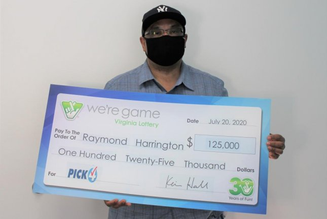 A Virginia man bought 25 identical tickets for the same Pick 4 lottery drawing and each ticket ended up earning him $5,000. Photo courtesy of the Virginia Lottery
