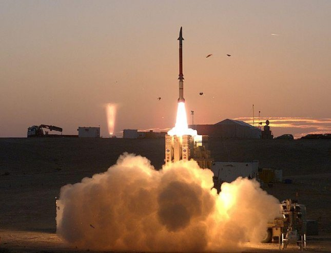 A Stunner missile is launched by Israel's David's Sling missile defense system.Photo: U.S. Missile Defense Agency.