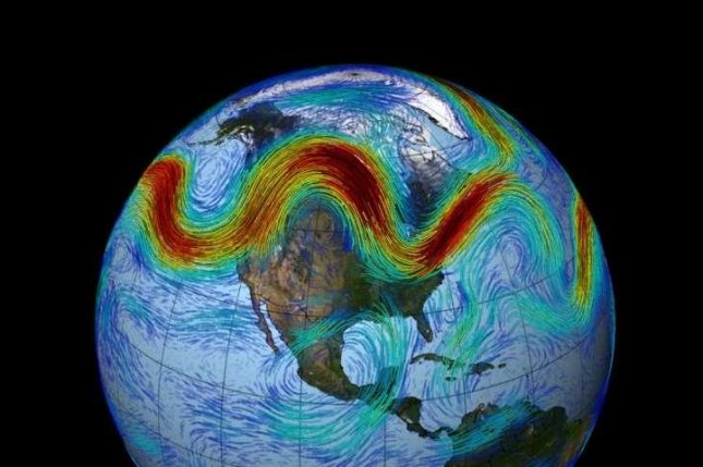 New research suggests traffic jam-like slowdowns in the jet stream can help explain strange and extreme weather patterns. Photo by NASA's Goddard Space Flight Center