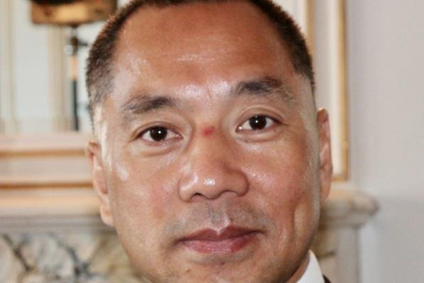 Fugitive Chinese billionaire Guo Wengui told Taiwanese media he had a conversation about the Chinese Communist Party with a senior Beijing official. File Photo by Momocalbee/Wikimedia Commons