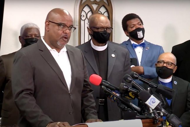 Keith Rivers, the president of the Pasquotank County Chapter of the NAACP in North Carolina,held a press conference Saturdaycriticizing thePasquotank County Sheriff's office for lack of transparency regarding the Wednesday shooting of Andrew Brown, Jr. Image via WAVY TV 10/YouTube