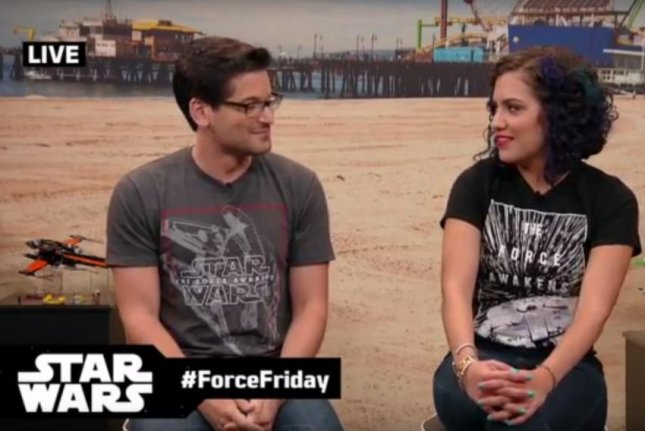 Disney and Star Wars are hosting a live stream event highlighting the release of toys tied to the upcoming Force Awakens film all over the world. Screenshot via Star Wars/Youtube