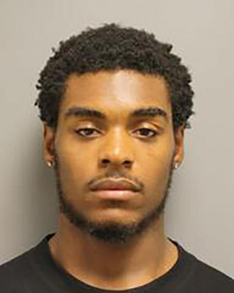 Neilo Jhaman Johnson, 25, was arrested following a short search by police had them asking the public for help identifying the shooter. Photo courtesy of Harris County Sheriff's Office
