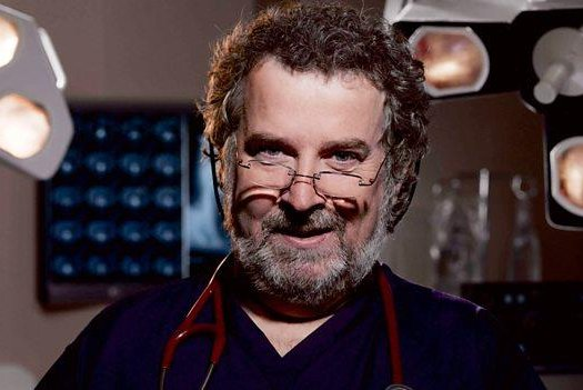Actor Paul Bradley is returning to Holby City for five episodes in honor of the show's 20th anniversary. Photo courtesy BBC