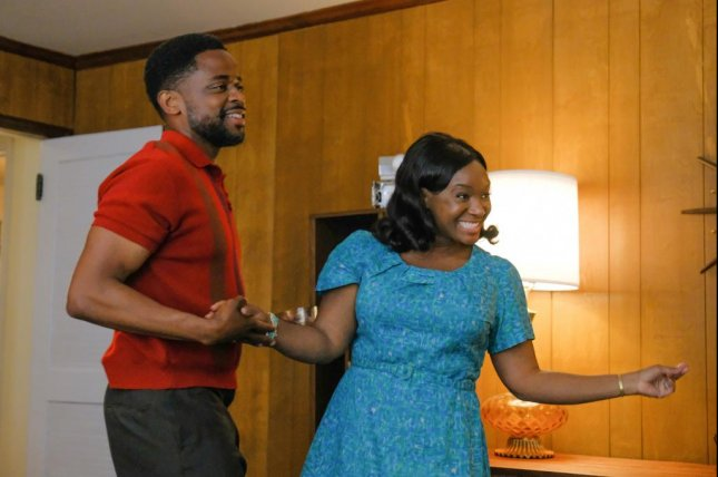 Dule Hill and Saycon Sengbloh play parents in 1968 in The Wonder Years. Photo courtesy of ABC