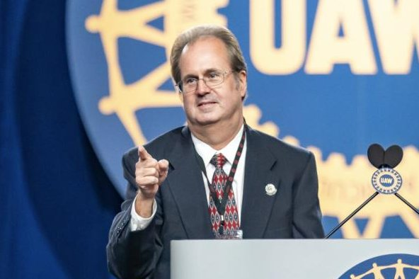 Gary Jones has been on a leave of absence from the United Auto Workers since an FBI raid on his house in August. File Photo courtesy of the UAW