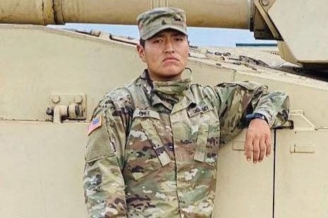 25-year-old Pvt. Corlton L. Chee died Wednesday after collapsing during a training exercise at Fort Hood last week, Army officials said. Photo courtesy of Fort Hood