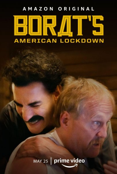 Amazon Prime will show new footage from Sacha Baron Cohen's five days in character in lockdown. Photo courtesy of Amazon