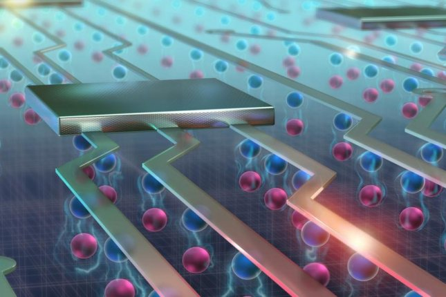 The manipulation of exciton flows could pave the way for a new generation of more powerful and efficient electronics. Photo by EPFL