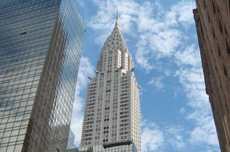 The Chrysler Building, seen here, is up for sale. Opened in 1930, it is one of Manhattan's tallest skyscrapers. Photo courtesy Wikimedia Commons/Jonathan71