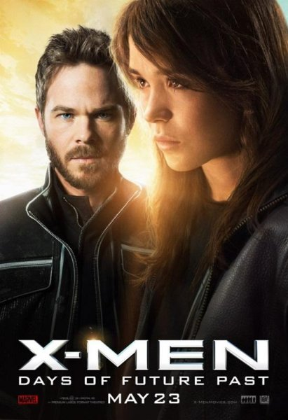 Iceman (Shawn Ashmore) and Kitty Pryde (Ellen Page) in 'X-Men: Days of Future Past.' (20th Century Fox)