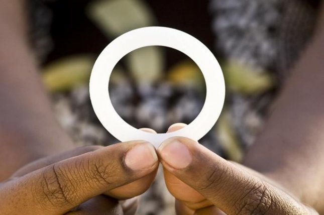 The monthly dapivirine ring, pictured, reduced risk of acquiring HIV by 56 percent among women who used it consistently, and by more than 76 percent among those who used it the most during two trials in Africa, researchers report. Photo by Andrew Loxley/International Partnership for Microbicides