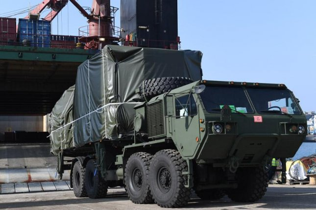 The second of two Iron Dome batteries being delivered to the U.S. Army. Photo courtesy Israeli Ministry of Defense