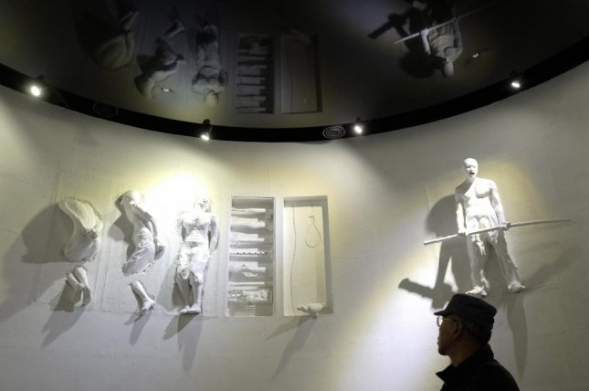 The 4.3 Peace Park on Jeju Island, South Korea includes exhibits of how victims were tortured or killed during a massacre that has been kept hushed-up for decades in the country. File Photo by Jeon Heon-kyun/EPA-EFE