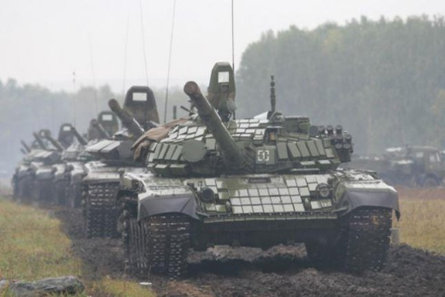 Russian tanks rolled into Belarus this week to start the week-long Zapad military exercises. The war games, last held in 2014, have alarmed Western European officials. Photo courtesy Russian Ministry of Defense