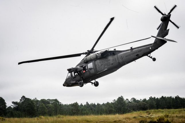 Sikorsky Aircraft Corp. has been awarded a $91 million contract modification to provide Saudi Arabia with eight Black Hawk utility helicopters. A U.S. Army Blackhawk helicopter is shown here. U.S. Army photo
