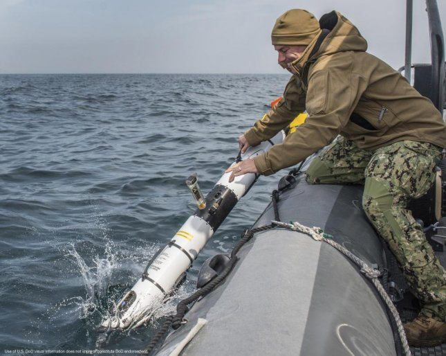 OceanServer's Iver UUV is launched on a mission. L3 Technologies acquired OceanServer last month and announced the acquisition and merger on Wednesday. Photo courtesy of L3 Technology Inc.