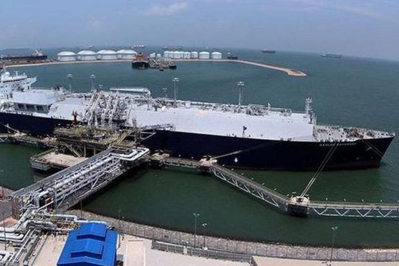 A series of strong earthquakes in Papua New Guinea prompted the closure of liquefied natural gas processing. Photo courtesy of Exxon Mobil