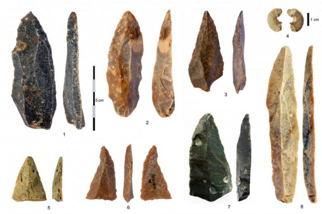 New analysis suggests modern humans produced the 45,000-year-old stone tools and beads found in Bulgaria's Bacho Kiro Cave. Photo by Tsenka Tsanova