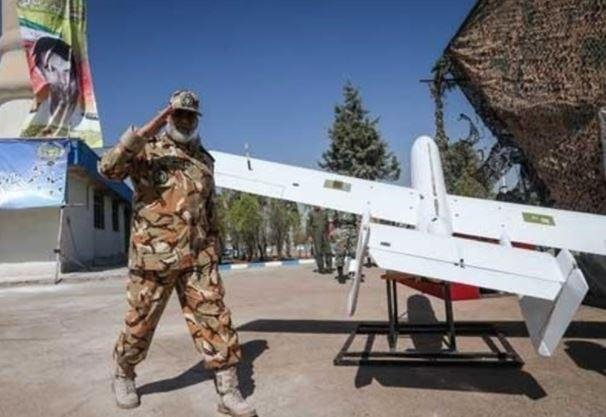 Terrorist use of drones, such as the Iran-made Yasir drone depicted, and humanitarian issues leading to radicalization, are the foremost threats in the Middle East, CENTOCOM commander Gen. Kenneth McKenzie said. Photo courtesy of Tasnim News Agency