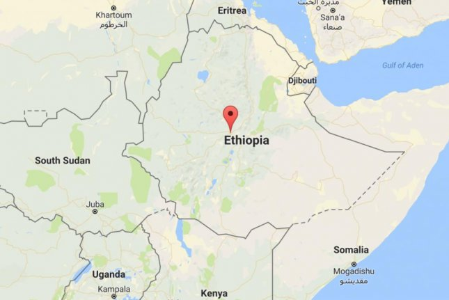 A landfull near the Ethiopian capital Addis Ababa, highlighted here, collapsed on Sunday. Local officials said the death toll has risen to 113 people. Image courtesy Google Maps