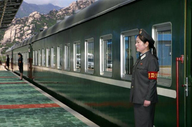 North Korea is seeking to develop the neglected Mount Kumgang Tourist Zone. Photo shows train station at resort in May 2007. File Photo by Yonhap