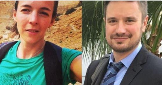 The bodies of United Nations workers, found in the Democratic Republic of Congo, were confirmed to be those of Zaida Catalan, left, and Michael Sharp, who were reported missing on March 12. Photos courtesy of Human Rights Watch/Twitter