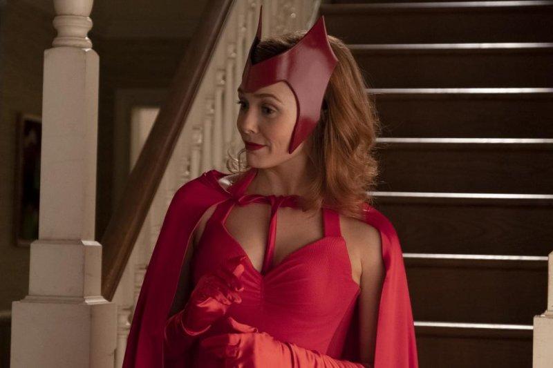 Elizbeth Olsen may get a second season of WandaVision. Photo courtesy of Marvel