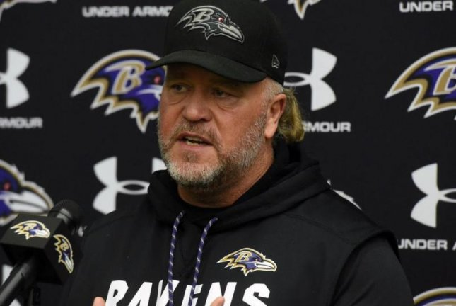 Baltimore Ravens coach John Harbaugh decided to stay in-house and promoted Don Wink Martindale to defensive coordinator, the team announced Tuesday, January 9, 2018. Photo courtesy of Baltimore Ravens/Twitter