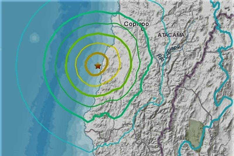 6.8-magnitude earthquake, aftershocks shake Chile